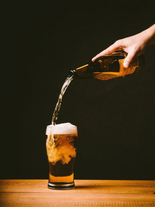 Staying hydrated and getting a sufficient amount of protein can be helpful while drinking.