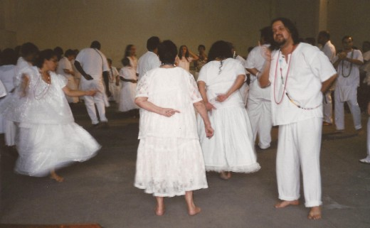 Pentecostal practices of being filled with the spirit look very similar to some of the Afro-Caribbean religions such as Voodoo.