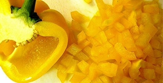 Chopped Yellow Pepper