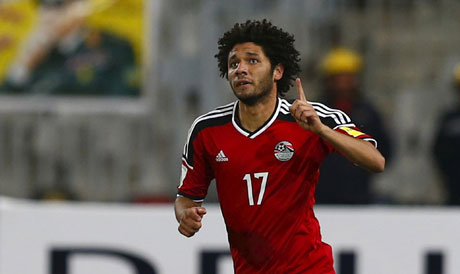 El-Neny scored in the 2017 AFCON final as Egypt lost 2-1 to Cameroon.