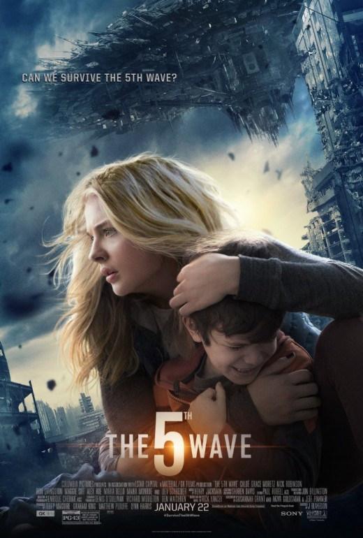 Cassie and her little brother on the movie cover