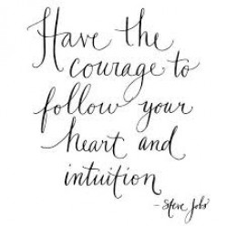 Follow the heart than the head!