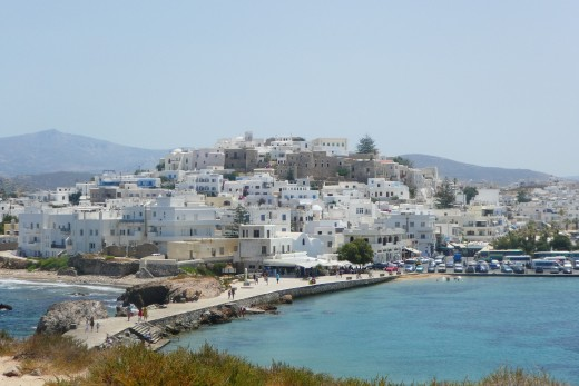 Naxos Town or Hora