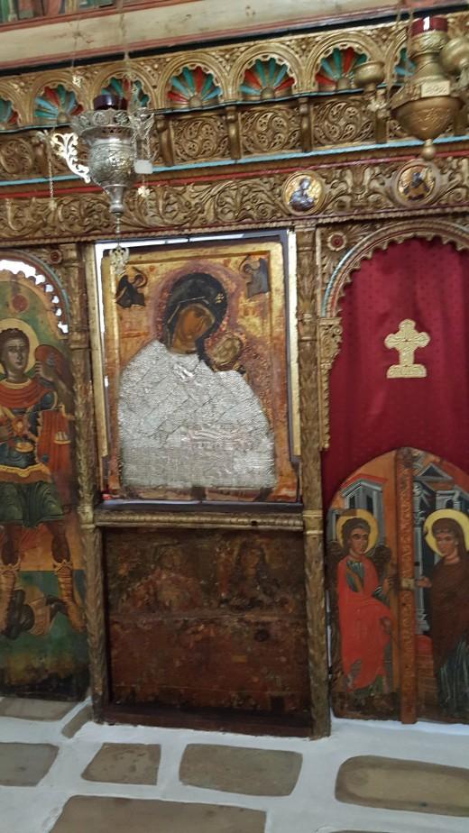 Unfrocked Virgin Mary