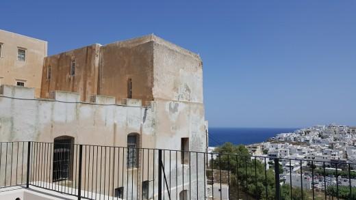 Naxos Castle Parapet