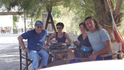 Philip, Susan, Jana and Christos