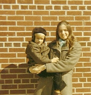 My brother, Ty and me March of 1972