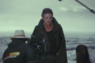 I am predicting this is the last scene in The Last Jedi. Leia reuniting with Rey.