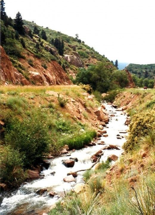 Scenery on the way to Cripple Creek, Colorado from Colorado Springs.