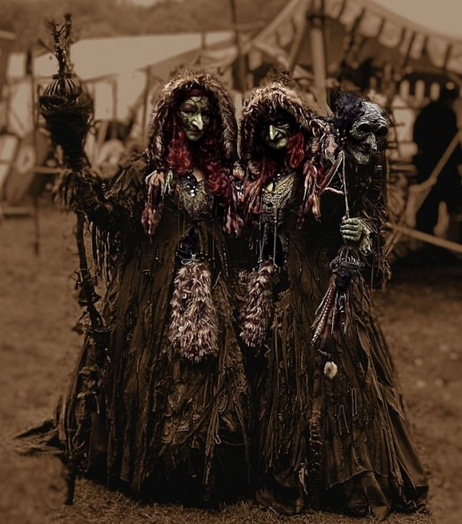 The Screecham Sisters supported the habits of pirates and were also locally known as witches near Cape Cod, MA.