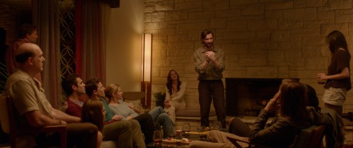 For a moment it just seems like a normal get together reminiscing about old times. The Invitation. #TheInvitation