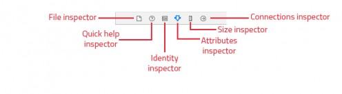 The Inspector toolbar