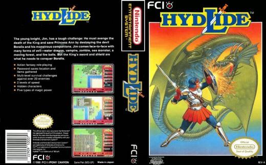 Hydlide (1984)