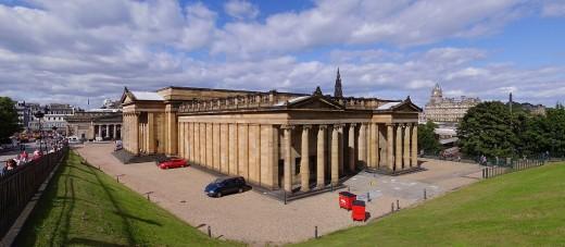 The National Gallery of Scotland in Edinburgh