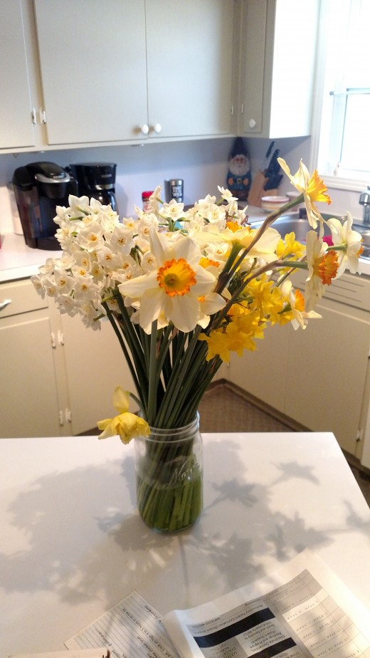 A daffodil bouquet to brighten your day!
