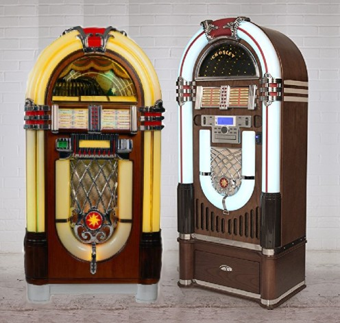 A new, Bluetooth enabled, high-tech looking jukebox was standing next to the the old one. Other than that, nothing had changed.