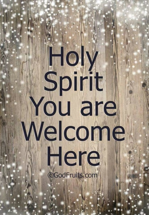 Keep the Holy Spirit Close, You Are Going to Need Him!!