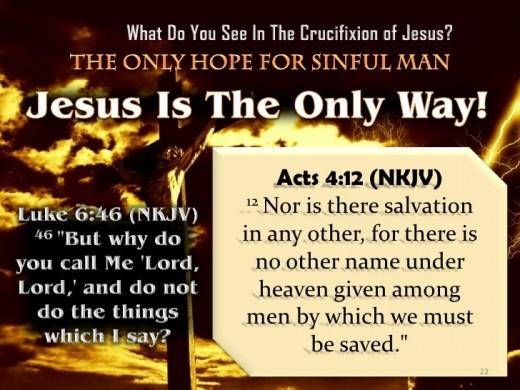 Want Heaven? Need Jesus!!