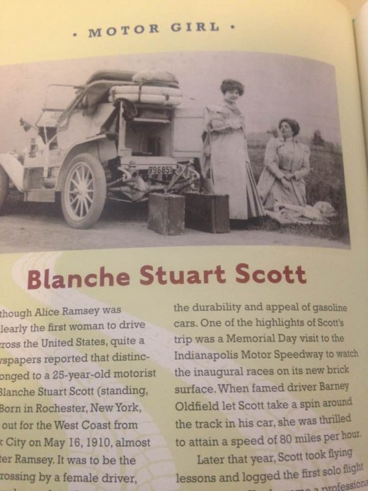Some newspapers reported her to be the first woman to drive across the country.