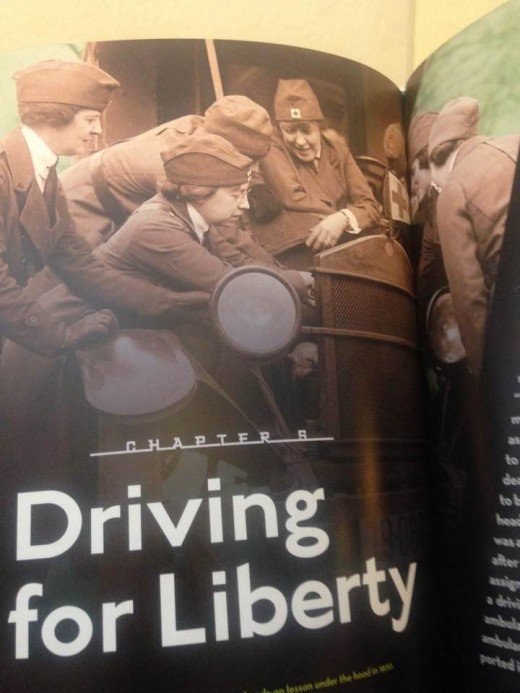 Women WW1 served a drivers in many capacities