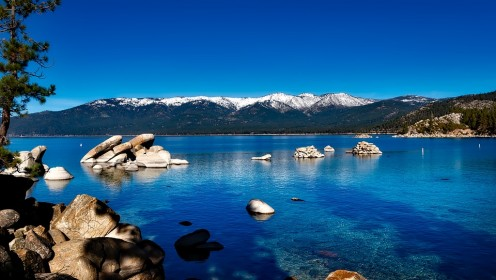 Lake Tahoe. The USA still has areas of clean water to enjoy.