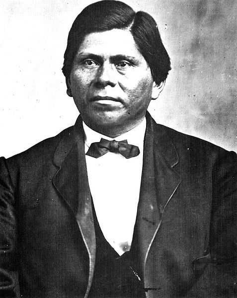 Allen Wright,  principal chief of the Choctaw nation from Fall 1866 to 1870. He also became a Presbyterian minister.
