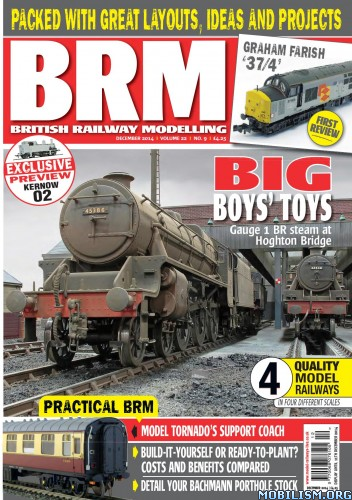 Specialising in the British railway scene, BRM investigates the modelling scene on layouts ranging from Truro to Thurso, Harwich to Harlech