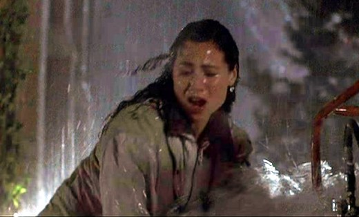 Minnie Driver gets very wet, like the rest of the cast, and her performance suffers as a result