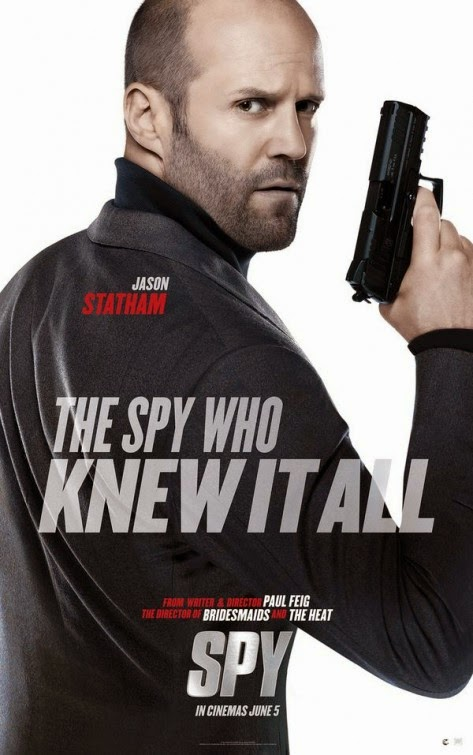 Jason Statham as the lovable fool