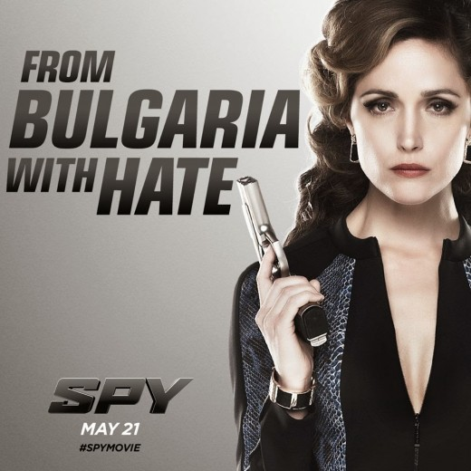 Rose Byrne as the villian