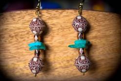 How to Make Boho/Gypsy/Hippie Style Dangle Earrings: A DIY Jewelry Tutorial