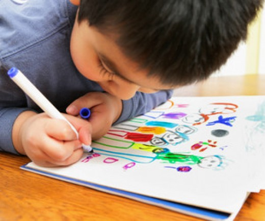 Art therapy to express hidden emotions