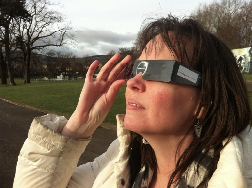 Watch safely with approved glasses