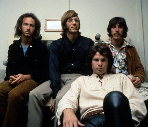 The Doors, including Robbie Krieger (left)