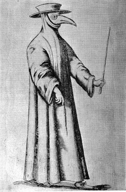 A Plague Doctor
