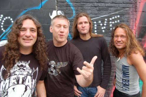 "Vocalist Andreas ""Gerre"" Geremia is on the far left of the picture."