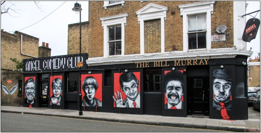 The Bill Murray - one of two venues used by Angel Comedy Club