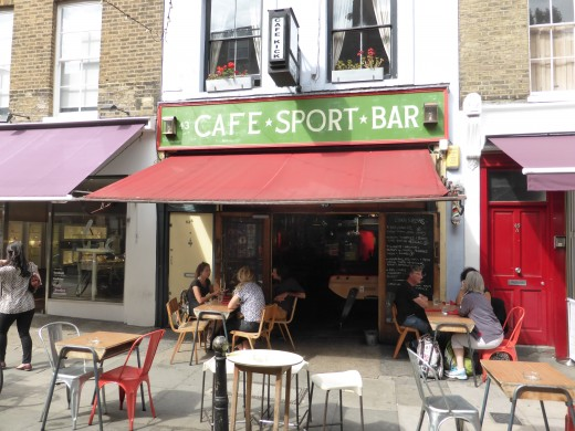 Cafe Kick Sports Bar - Exmouth Market