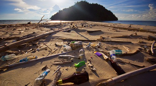 Pacific plastic pollution