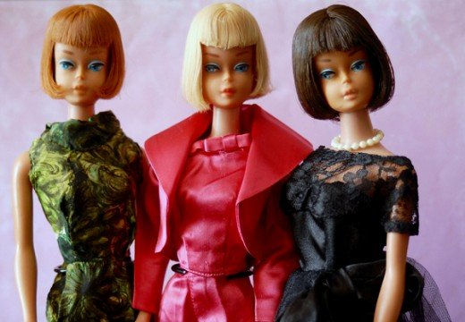 Vintage Barbie dolls are fashion dolls that are avidly collected by doll collectors.