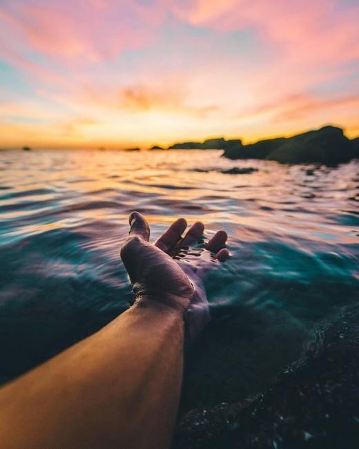 Love for the ocean.