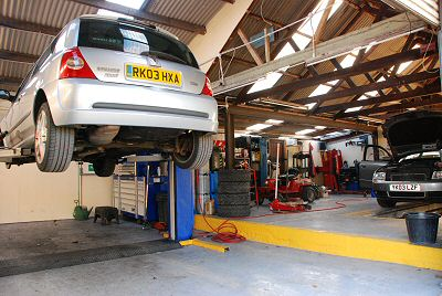 The MoT Centre would belong to history once Spider went to work for M&S... Guy Stapleton could no longer threaten
