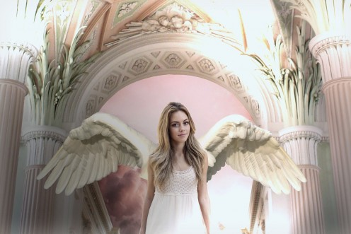 This angel symbolizes the great musical quality that is present when you listen to this album from beginning to end.