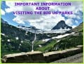 Important Information about RVing to the Big US Parks