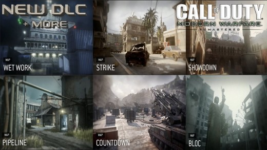 Call of Duty: Modern Warfare Remastered - image of a few maps