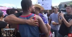 When the Spirit of John Lennon Touched Down in Dallas, BLM vs. Counter-Protesters