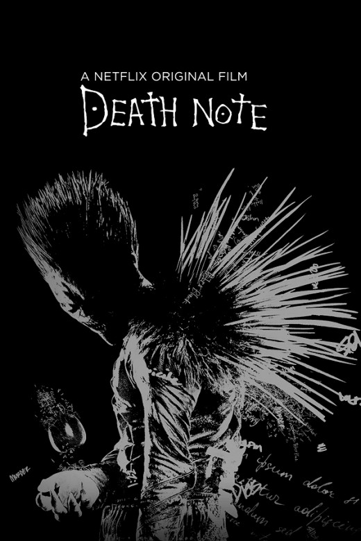 Death Note (Netflix) poster (made by me).