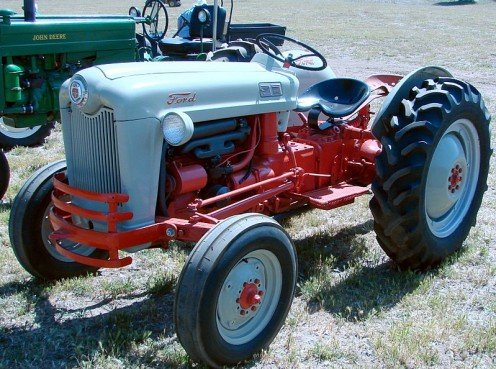 1950 Ford Tractor.