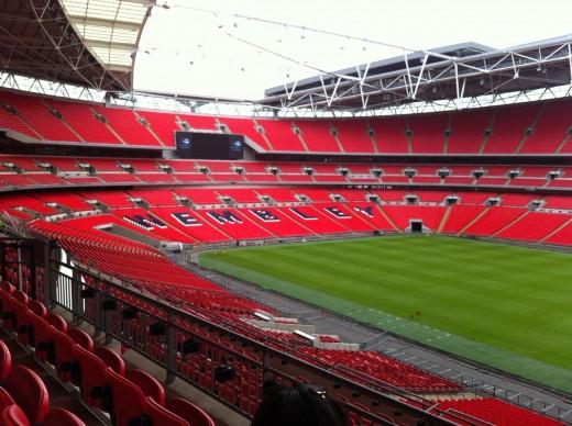 Tottenham will play at the England national stadium this season
