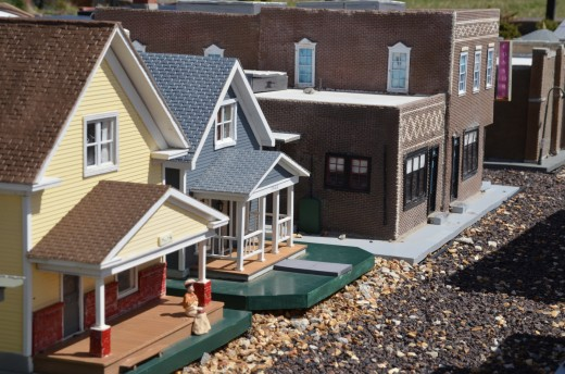 Model building may include one or more buildings. Build a replica of your personal home or a replica of the town or city where your house was located.